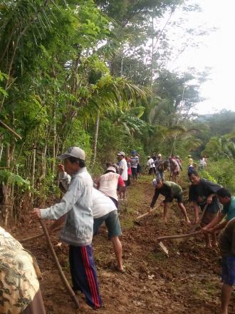 Foto Pembangunan Desa Pule